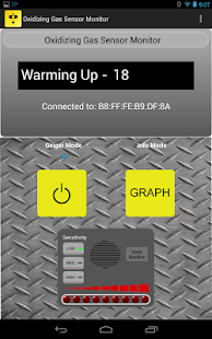 Oxidizing Gas Sensor Monitor- screenshot thumbnail