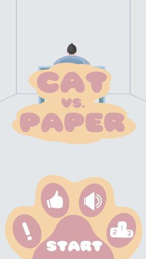 Cat vs. Paper