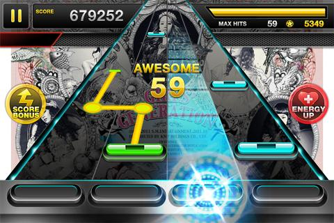 Rhythm Action TAP SONIC - screenshot