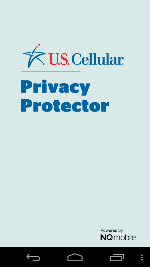 U.S.Cellular Privacy Protector- screenshot