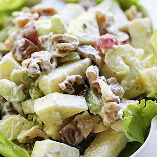 Apple Waldorf Salad With Grapes Recipes.