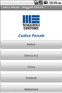 Codice Penale- screenshot thumbnail