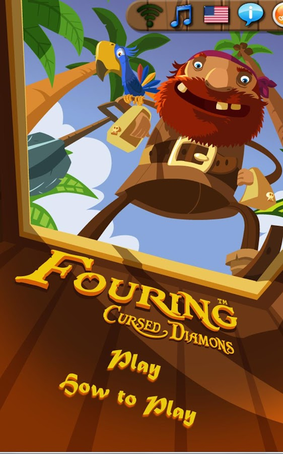Fouring Cursed Diamonds Free - screenshot