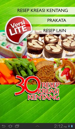 30 Resep Kreasi Kentang Lite