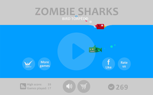 Shark Zombies vs Bird Torpedo