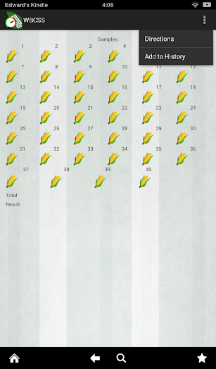 WBC Speed Scout (WBCSS) screenshot for Android