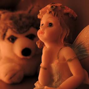 Baby Doll by Rahul Savaliya - Artistic Objects Toys ( love, angel, orange, cat, new, doll, rajkot, shadow, toys, baby, latest, light )