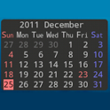 No Frills Calendar icon