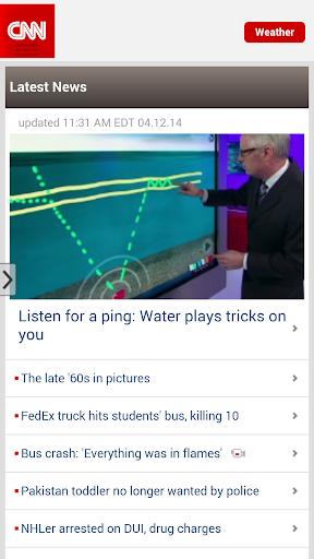 CNN on the Go