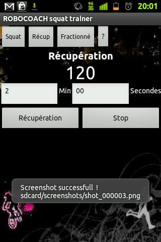 Robocoach Squat- screenshot