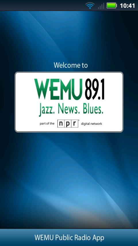 WEMU Public Radio App - screenshot