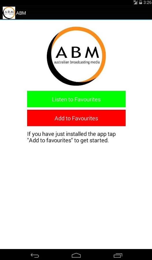 ABM Player- screenshot
