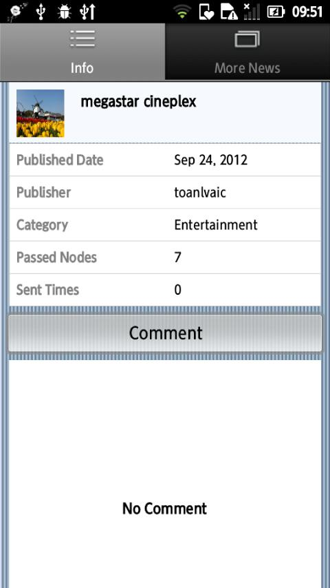 iSpreader - screenshot