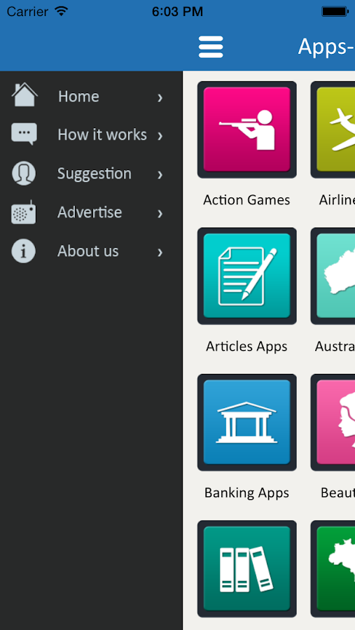 Apps Catalog - App of the Apps- screenshot
