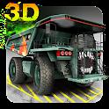 Estacionamento Radioativo 3D icon