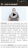 Screenshot of IDendeaf