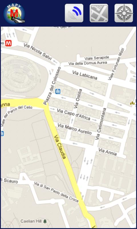 MAPY: Rome Offline Map & Metro - screenshot