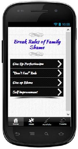 Break Rules of Family Shame