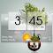 3D Flip Clock Theme Pack 02 1.3 Apk