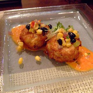 Killer Crab Cakes with Tomato Tarter Sauce.