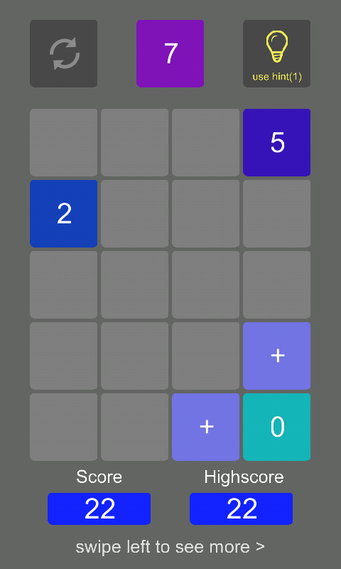2plus2 Number Puzzle- screenshot