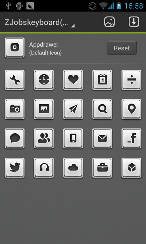 ZJobskeyboard GO Reward Theme - screenshot