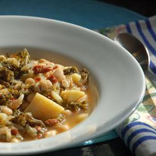 Portuguese Kale Soup.