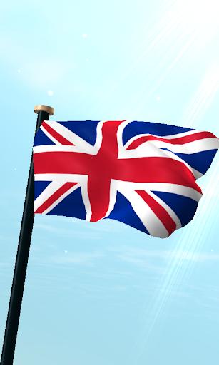 聯合王國旗3D免費動態桌布