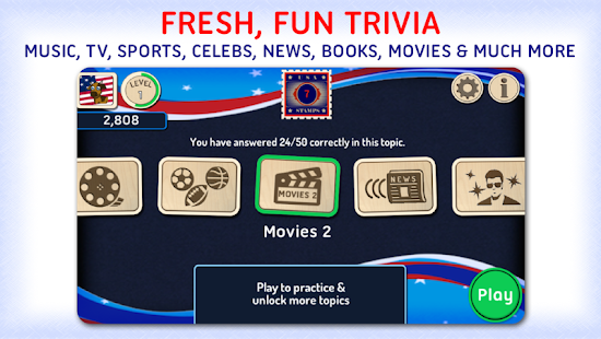 Xac USA: Pop Culture Trivia- screenshot thumbnail