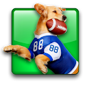 Jerry Rice Dog Football logo