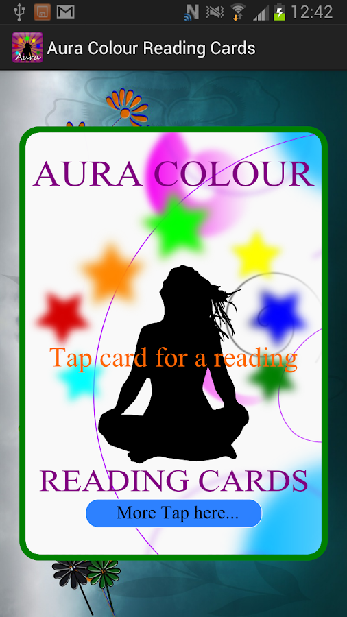 Aura Colour Reading Cards- screenshot