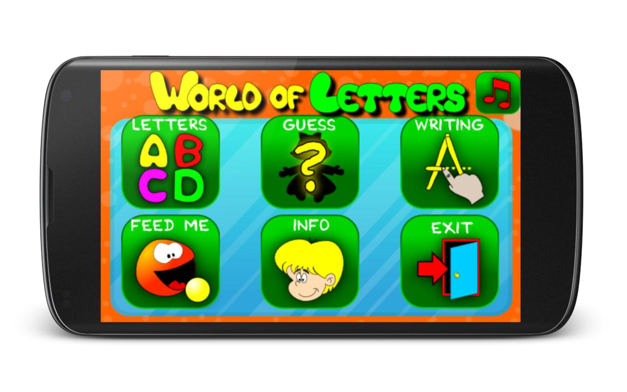 The World of Letters- screenshot