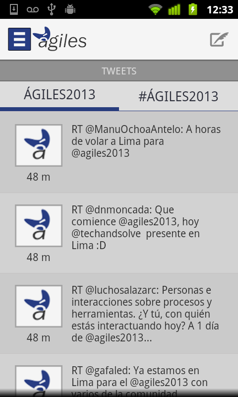 Agiles2013 - screenshot