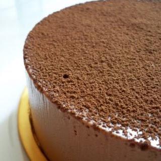Swiss Chocolate Cake.