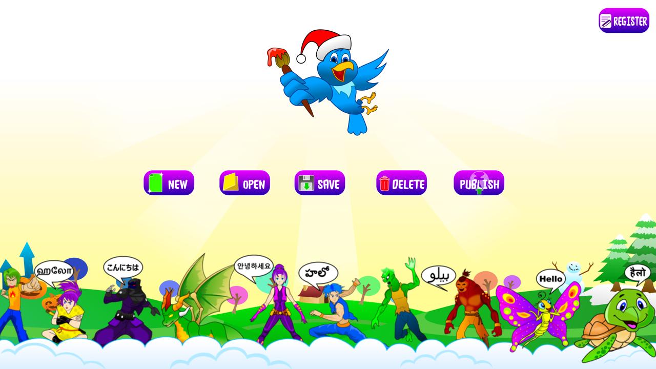 Create Children Book - screenshot