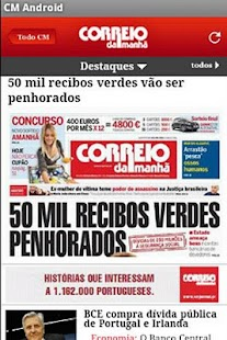 Correio da Manhã- screenshot thumbnail