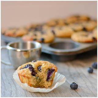 Protein Blueberry Muffins.