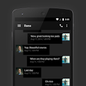 EvolveSMS Theme Hangout Dark icon
