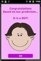 Screenshot of ZB Baby Gender Predictor