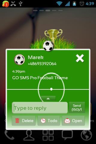 玩個人化App|足球的主题为GO短信免費|APP試玩