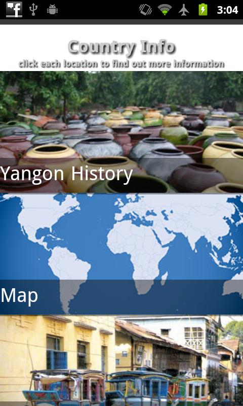 Myanmar Travel Guide- screenshot