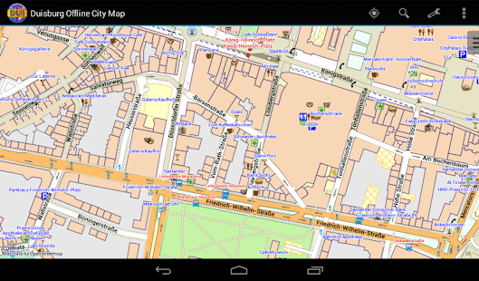 Duisburg Offline City Map- screenshot thumbnail