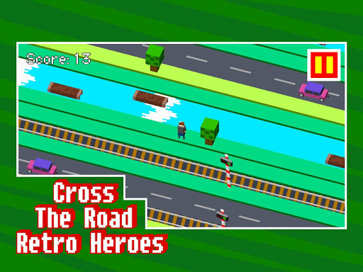 Cross The Road: Retro Heroes