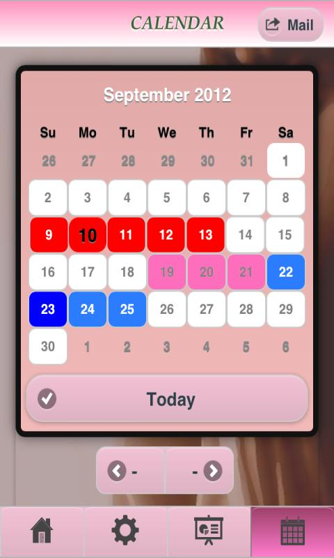 Menstruation Fertility Pro Lte Android Apps On Google Play