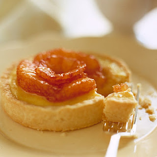 Rice Pudding Tarts with Blood Oranges