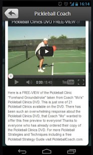 Pickleball Coach- screenshot thumbnail