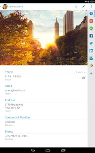 Contacts+ - screenshot thumbnail