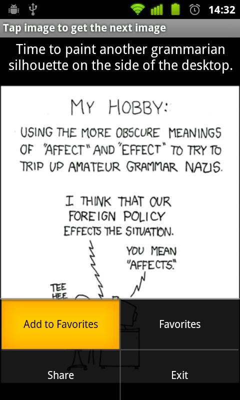XKCD - screenshot