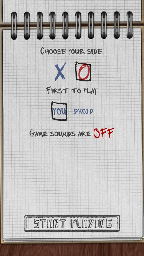 Bluetooth Tic Tac Toe Free- screenshot