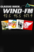 Screenshot of WIND-FM